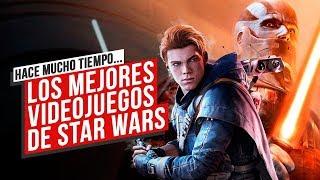 Estos son LOS MEJORES juegos de STAR WARS