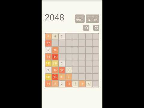 2048 Gameplay Walkthrough ~ Huge(8X8) Score 24704