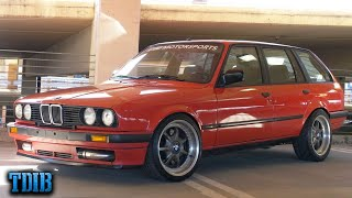homepage tile video photo for 500HP 1JZ BMW E30 Wagon! The ULTIMATE Grocery Getter!