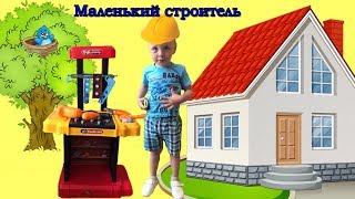 ДИТЯЧИЙ НАБІР ІНСТРУМЕНТІВ у валізі і Майстер Назар children's toy tool and little Master Nazar