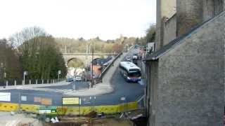 Deux buses Gronn Luxembourg (Scania OmniCity - Mercedes Citaro)