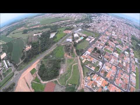Voo curto de drone - Monte Alto SP