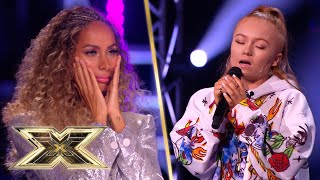 17-year-old Kellimarie writes songs that we can totally relate to!   The X Factor UK