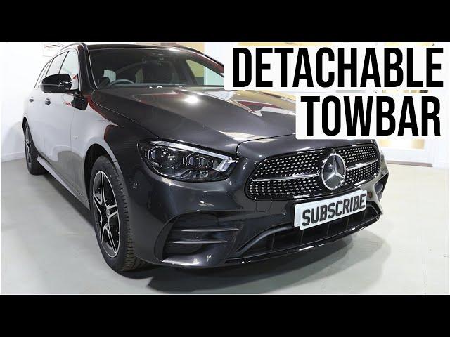 Mercedes E300 Hybrid 2021 - Detachable Towbar & Dedicated Electrics