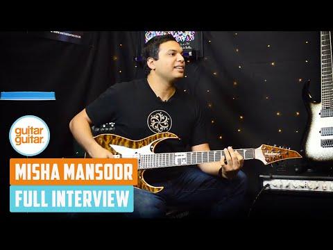 Misha Mansoor | Interview with guitarguitar