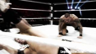 RKO On Alex Riley (Raw Slammy Awards 12.13.2010) HD (First On Youtube)