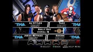 nL Live - TNA Impact: Wrestling Matters [WWE SmackDown! vs. RAW 2010 Mod] (PS2)