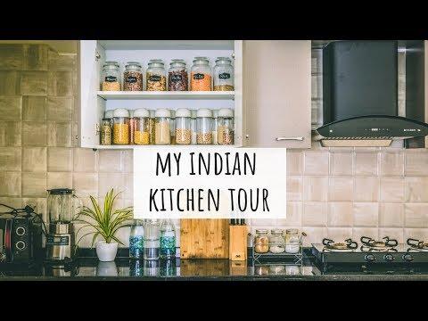 My Kitchen Tour - Indian |Indian Kitchen Organization Ideas |Indian Kitchen Tour |Kitchen Tour India