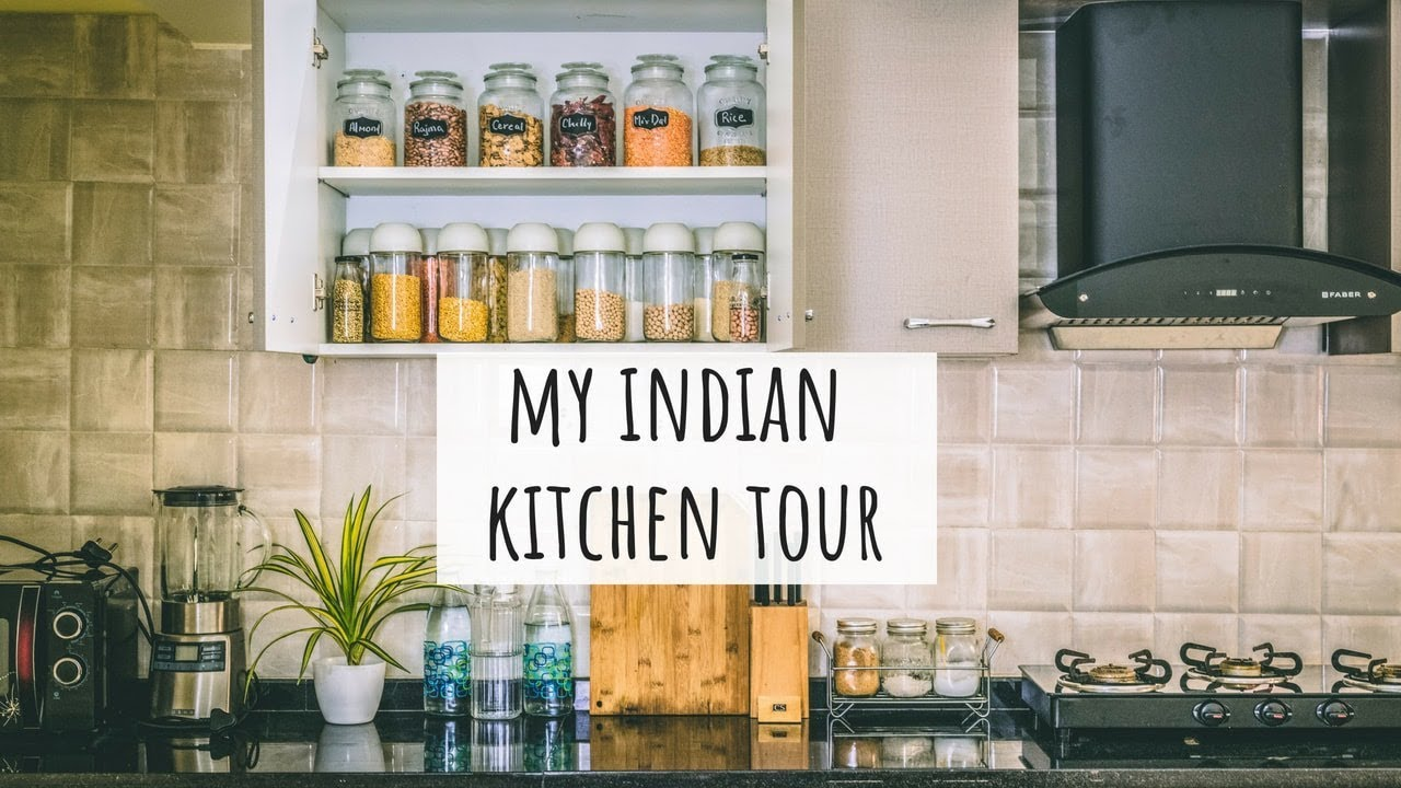 My Kitchen Tour Indian Indian Kitchen Organization Ideas Indian Kitchen Tour Kitchen Tour India