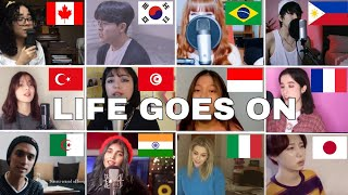 who Sang It Better :BTS (방탄소년단) - Life Goes On (12 different countries )