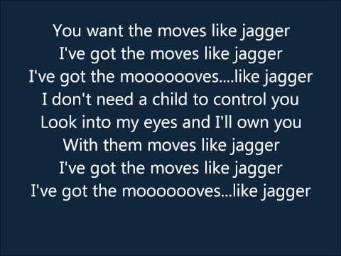Moves Like Jagger (lyrics) - Maroon 5