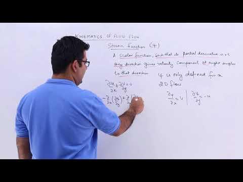 Kinematics Of Fluid Flow - Stream Function