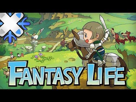 Un jour Un jeu | Fantasy Life - L'apprenti sorcier
