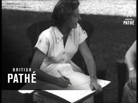 Census Visits Trumans (1950)