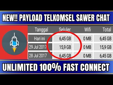 NEW!! PAYLOAD TELKOMSEL CHAT UNLIMITED|http injector indonesia 2017