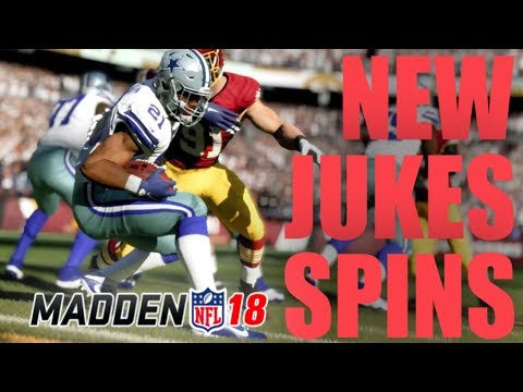 THE BEST NEW RUNNING MOVES IN MADDEN 18!! | MASTER THE RUN GAME IN MADDEN 18!! | Madden 18 Tutorial