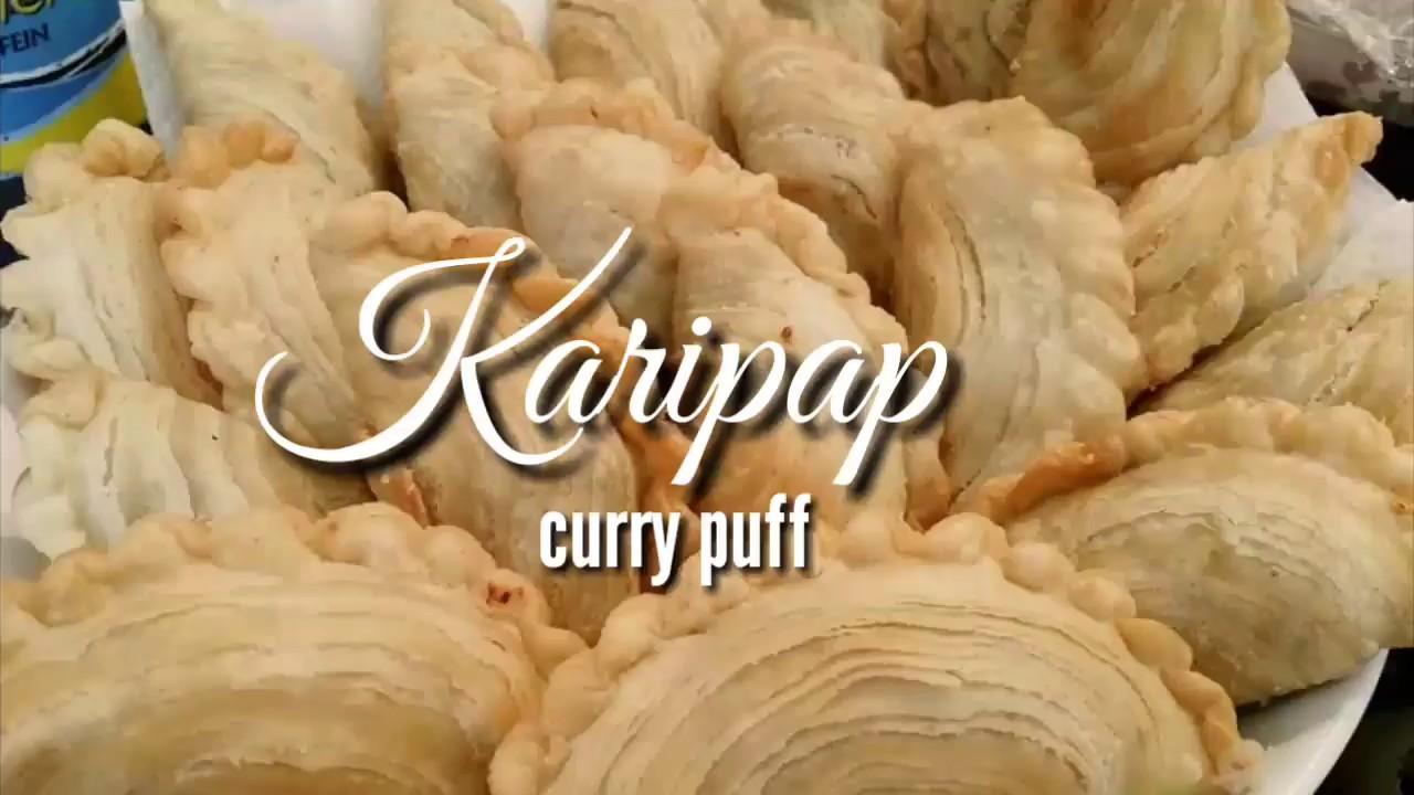 Cara membentuk Karipap Pusing aka Curry Puff - YouTube