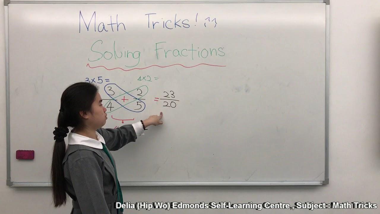 Math Tricks 1 Delia(Hip Wo) Edmonds Self-Learning Centre