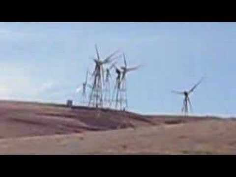 A drive through the Altamont Pass, CA