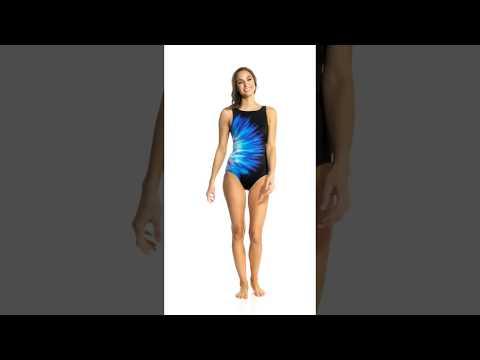 active-spirit-water-color-zip-pocket-high-neck-one-piece-swimsuit-|-swimoutlet.com