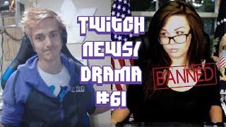 Twitch Drama/News #61 (Ninja Drinking For Subs, MrMouton Hacked, Reckful Kicked Out)