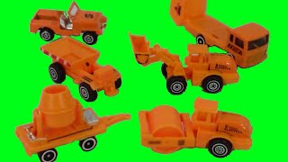 Construction Equipment and Heavy Duty Toys Builders Orange Heavy Machinery Toys