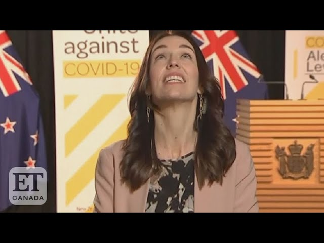 Jacinda Ardern Experiences Earthquake On Live TV