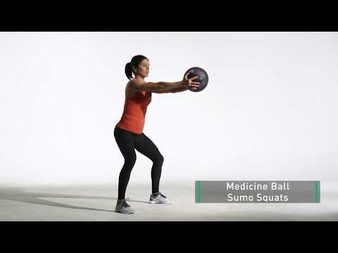 Medicine Ball Sumo Squat | Legs for Days | 24Life - YouTube