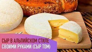 Делаю сыр Томм в альпийском стиле