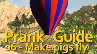 """Goat Simulator"" - PAYDAY DLC - Make pigs fly (06)"