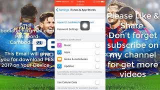 Gambar cover How to download PES 2017 on iOS Free |  pes 2017 iphone | pes 2017 mobile