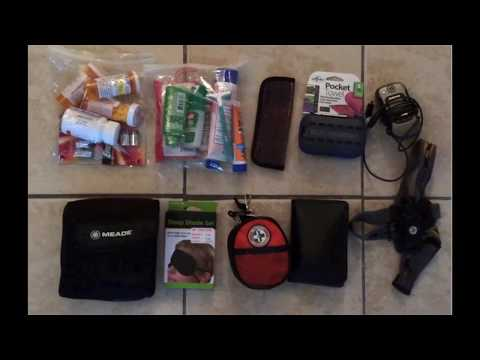 Packing your backpack for traveling throughout Ecuador