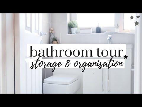 small-bathroom-tour-and-organisation-|-minimalist-grey-bathroom-uk