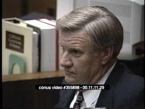 OJ Simpson Trial - March 20th, 1995 - Part 2 (Last part)