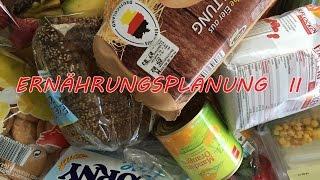 Ernährungsplanung II - Was, wann + Einkauf! #USEitorLOSEit