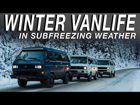 Winter Van Life In Subfreezing Weather - Living The Van Life