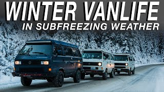 Winter Van Life In Subfreezing Weather - Living The Van Life