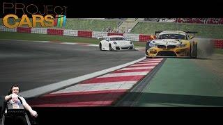 Новый чемпионат GT3 на нервной BMW M3 GT - квалификация - Project CARS на руле Fanatec CSL Elite