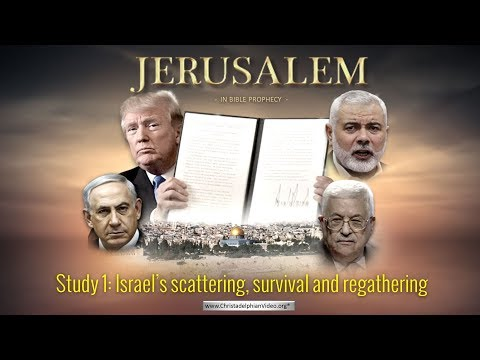 LIVE EVENT: Jerusalem in Bible Prophecy: Part 1 -'Israel's scattering, survival and regathering.'