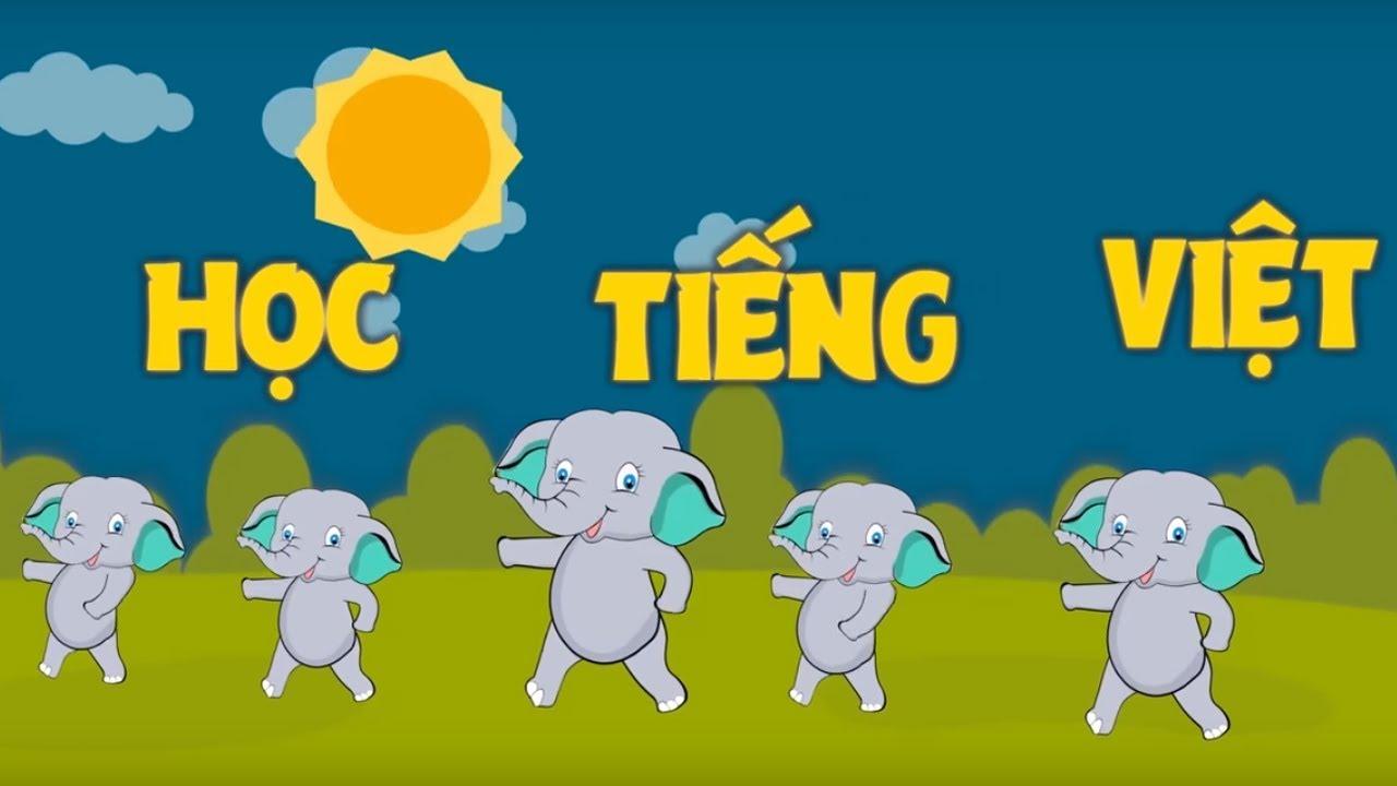 image Học Chữ Cái Tiếng Việt Qua Bài Hát | Nhạc Thiếu Nhi Tổng Hợp | VOI TV