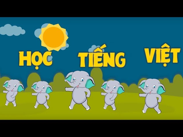 Học Chữ Cái Tiếng Việt Qua Bài Hát | Nhạc Thiếu Nhi Tổng Hợp | VOI TV