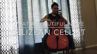 What A Beautiful Name- Hillsong / Break Every Chain- Tasha Cobbs Medley - Cello Cover