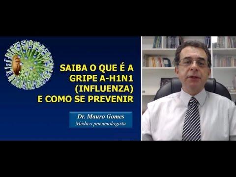 SAIBA O QUE É A GRIPE A-H1N1 (INFLUENZA) E COMO SE PREVENIR