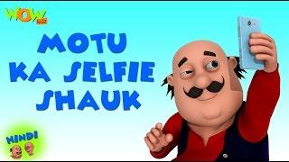 Motu Ka Selfie Shauk- Motu Patlu in Hindi - 3D Animation Cartoon -As on Nickelodeon