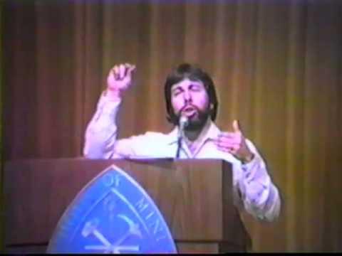 1984 Steve Wozniak Full Speech Part 1 of 4