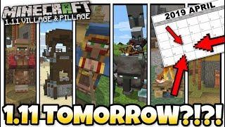 Minecraft - 1.11 UPDATE OUT TOMORROW ! [ Village & Pillage ] MCPE / Xbox / Bedrock / Java