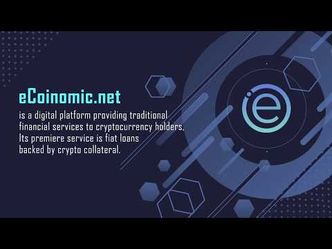 eCoinomic - Financial Services Platform For Crypto Holders