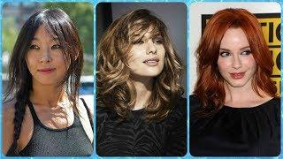 Ładne fryzury dla owalnej twarzy damskiej
