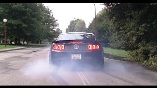 Ford Shelby Mustang GT500 SVT- Revs, Donuts, Burnout and Acclerations SOUNS