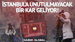 İstanbul'a Unutulmayacak Bir Kar Yağışı Geliyor!   Bünyamin Sürmeli Hava Durumun